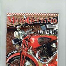 Coches y Motocicletas: REVISTA MOTOCICLISMO CLÁSICO Nº 106. Lote 116257815