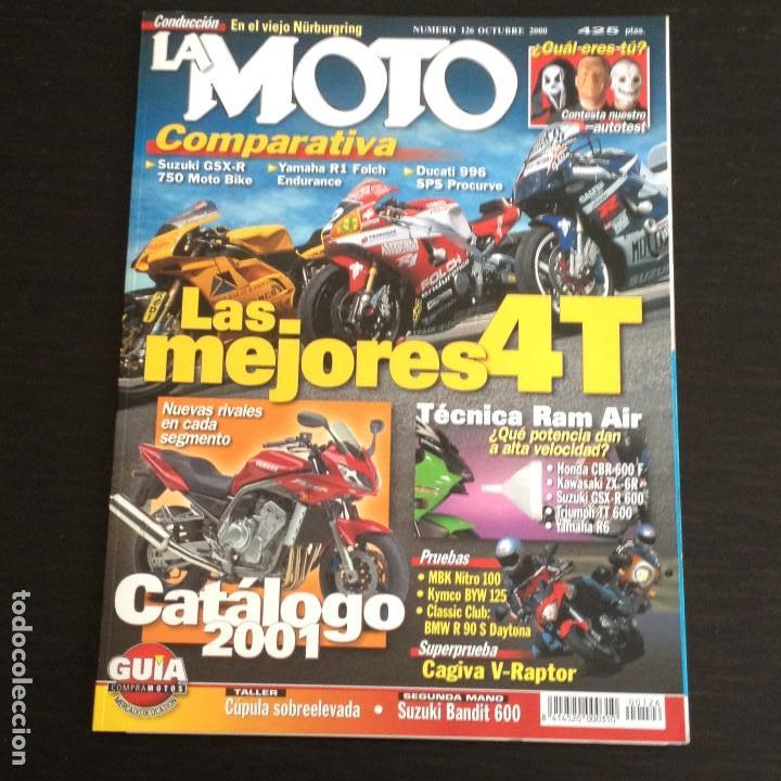 La Moto Nº 126 Bmw R 90 S Mbk Nitro 100 Kymco B Kaufen Alte