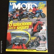 Coches y Motocicletas: LA MOTO Nº 132 DERBI 74 GRAN SPORT SUZUKI GSX-R 1000 YAMAHA FAZER 1000 BMW R 1150 GS. Lote 116547383