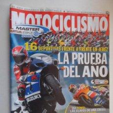 Coches y Motocicletas: MOTOCICLISMO REVISTAS AÑO 2003 MAYO 1839. Lote 116725743