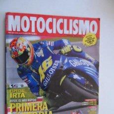 Coches y Motocicletas: MOTOCICLISMO REVISTAS AÑO 2004 Nº 1884 MARZO . Lote 116726535