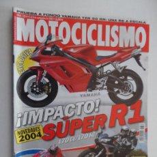 Coches y Motocicletas: MOTOCICLISMO REVISTAS AÑO 2003 - SEPTIEMBRE Nº 1854. Lote 116726915