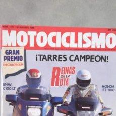 Coches y Motocicletas: REVISTA MOTOCICLISMO EXTRA NUMERO 1175 30 AGOSTO 1990. Lote 116924903