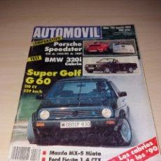 Coches y Motocicletas: REVISTA AUTOMÓVIL - NÚMERO 139 - AGOSTO 1989. Lote 116927044
