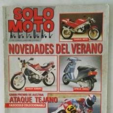 Coches y Motocicletas: REVISTA SOLO MOTO JUNIO 1990. Lote 117129658