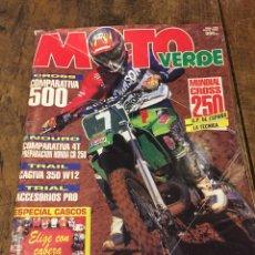 Coches y Motocicletas: MOTO VERDE N 178. Lote 117469498