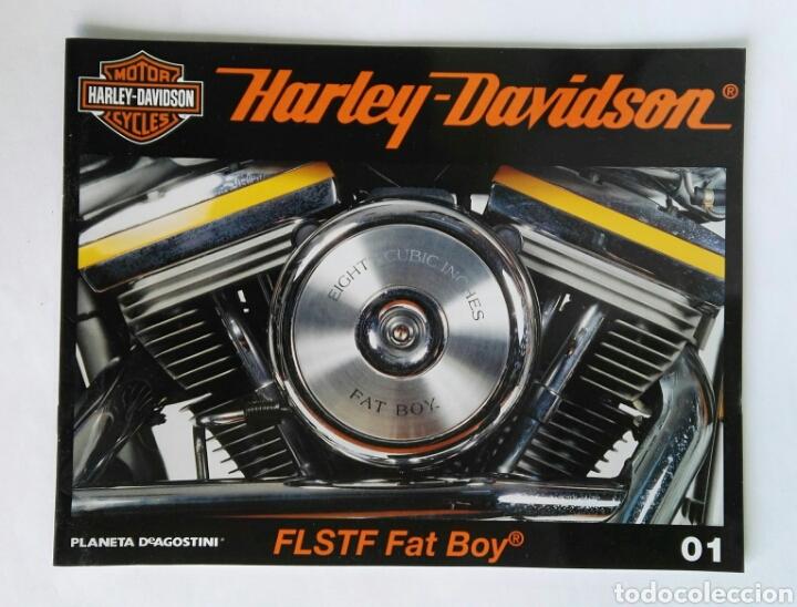 HARLEY DAVIDSON FLSTF FAT BOY FASCÍCULO 01 PLANETA DEAGOSTINI (Coches y Motocicletas - Revistas de Motos y Motocicletas)
