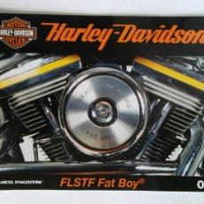 Coches y Motocicletas: HARLEY DAVIDSON FLSTF FAT BOY FASCÍCULO 01 PLANETA DEAGOSTINI. Lote 118019567
