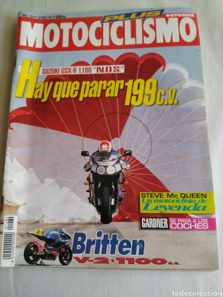 MOTOCICLISMO Nº 1284 - SUZUKI GSX-R 1.100 N.O.S. (Coches y Motocicletas - Revistas de Motos y Motocicletas)