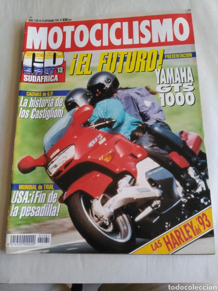 MOTOCICLISMO Nº 1281 - YAMAHA GTS 1000. GP SUDÁFRICA. CAGIVA. HARLEY DAVIDSON 93 (Coches y Motocicletas - Revistas de Motos y Motocicletas)
