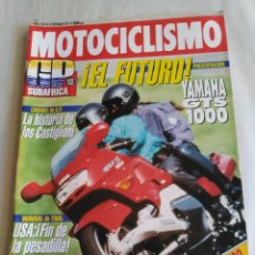 Coches y Motocicletas: MOTOCICLISMO Nº 1281 - YAMAHA GTS 1000. GP SUDÁFRICA. CAGIVA. HARLEY DAVIDSON 93. Lote 118176371