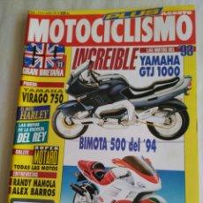 Coches y Motocicletas: MOTOCICLISMO Nº 1276 - YAMAHA VIRAGO 750. GTJ 1000. BIMOTA 500 94. EL MITO HARLEY. Lote 118446383