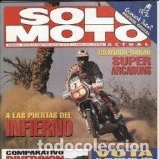 Coches y Motocicletas: REVISTA SOLO MOTO ACTUAL 970 AÑO 1995. PRU:KAWASAKI VN 800 VULCAN.COMP:YAMAHA XJ 600 S DIVERSION*28 . Lote 119347919
