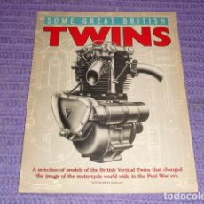 Coches y Motocicletas: SOME GREAT BRITISH TWINS - 1970 -. Lote 119368299