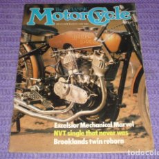 Coches y Motocicletas: THE CLASSIC MOTORCYCLE - 1982 -. Lote 119369147