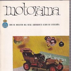 Coches y Motocicletas: REVISTA MOTORAMA Nº 4 RALLY 1000 KM. Lote 120177747