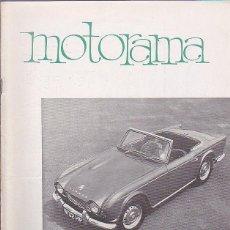 Coches y Motocicletas: REVISTA MOTORAMA Nº 13. Lote 120178491