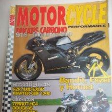 Coches y Motocicletas: REVISTA DE MOTOS MOTORCYCLE PERFORMANCE. Nº 22. DUCATIS CARBONO, BANDIT, FAZER, HORNET, TERROT HC4. Lote 120392519