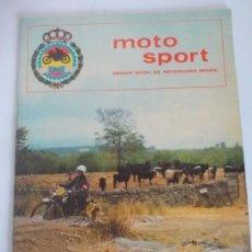 Coches y Motocicletas: MOTO SPORT REVISTA FME . Lote 120498267