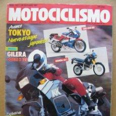 Coches y Motocicletas: MOTOCICLISMO Nº 1027 GILERA KK 125 NORTON ROTATIVA RC588 KTM 250 MX. Lote 120840043