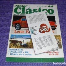 Coches y Motocicletas: MOTOR CLÁSICO - Nº 44 - ESPECIAL PTV. Lote 121257995