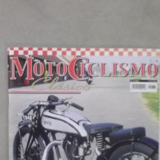 Coches y Motocicletas: REVISTA MOTOCICLISMO CLASICO NUMERO 76 ENERO 2009 NORTON CS1 BULTACO MATADOR MK3. Lote 121420931