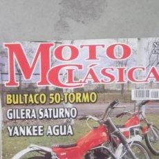 Coches y Motocicletas: REVISTA MOTO CLASICA. NUMERO 5 AÑO 2003 BULTACO 50 TORMO OSSA YANKEE AGUA MONTESA COTA 25. Lote 121736687
