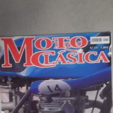 Coches y Motocicletas: REVISTA MOTO CLASICA NUMERO 18 AÑO 2006 OSSA STILLBORN TRAVESIS AFRICA. Lote 121738219