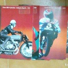 Coches y Motocicletas: 22 FASCÍCULOS DE MOTOS DE COMPETICIÓN, EN FRANCÉS. Lote 121955507