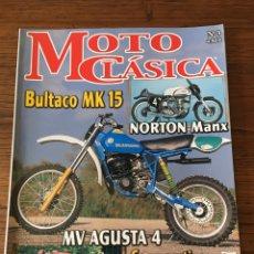 Coches y Motocicletas: REVISTA MOTO CLÁSICA NUM 3 NORTON MANX MONTESA OSSA BULTACO SCOTTISH TRIAL. Lote 122096342