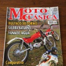 Coches y Motocicletas: REVISTA MOTO CLÁSICA NUM 5 BULTACO GILERA YANKEE COTA MONTESA. Lote 122096840