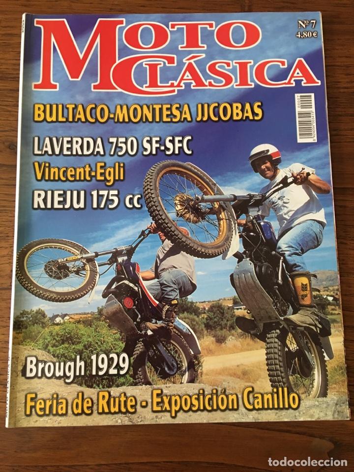 REVISTA MOTO CLÁSICA NUM 7 TRIAL BULTACO RIEJU LAVERDA MONTESA JJCOBAS (Coches y Motocicletas - Revistas de Motos y Motocicletas)