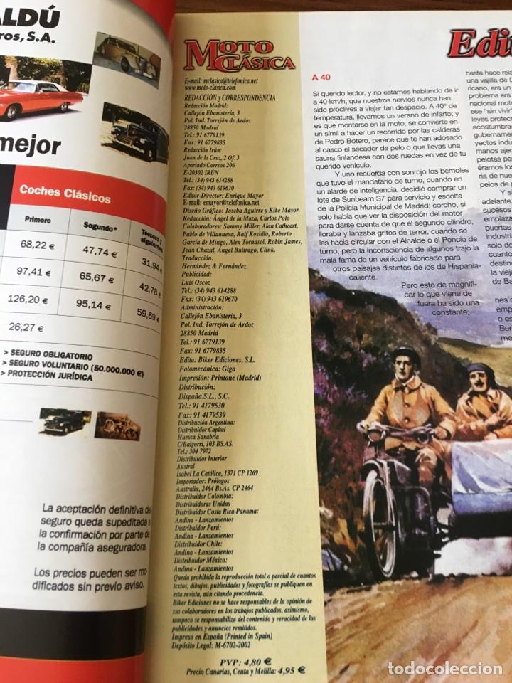 Coches y Motocicletas: REVISTA MOTO CLÁSICA NUM 7 TRIAL BULTACO RIEJU LAVERDA MONTESA JJCOBAS - Foto 2 - 122097139