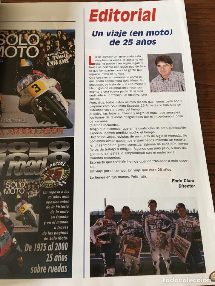 Coches y Motocicletas: REVISTA SOLO MOTO & OFF ROAD EJEMPLAR FUERA SERIE VERANO 2000 - Foto 4 - 122098391