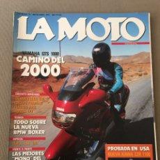 Coches y Motocicletas: REVISTA LA MOTO NUM 32 1992 YAMAHA GILERA PIAGGIO HONDA BNW CAGIVA. Lote 122105742
