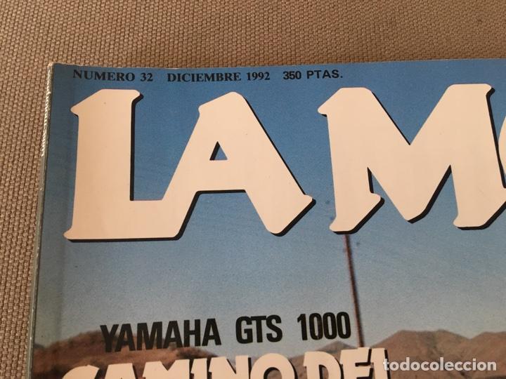 Coches y Motocicletas: REVISTA LA MOTO NUM 32 1992 YAMAHA GILERA PIAGGIO HONDA BNW CAGIVA - Foto 2 - 122105742