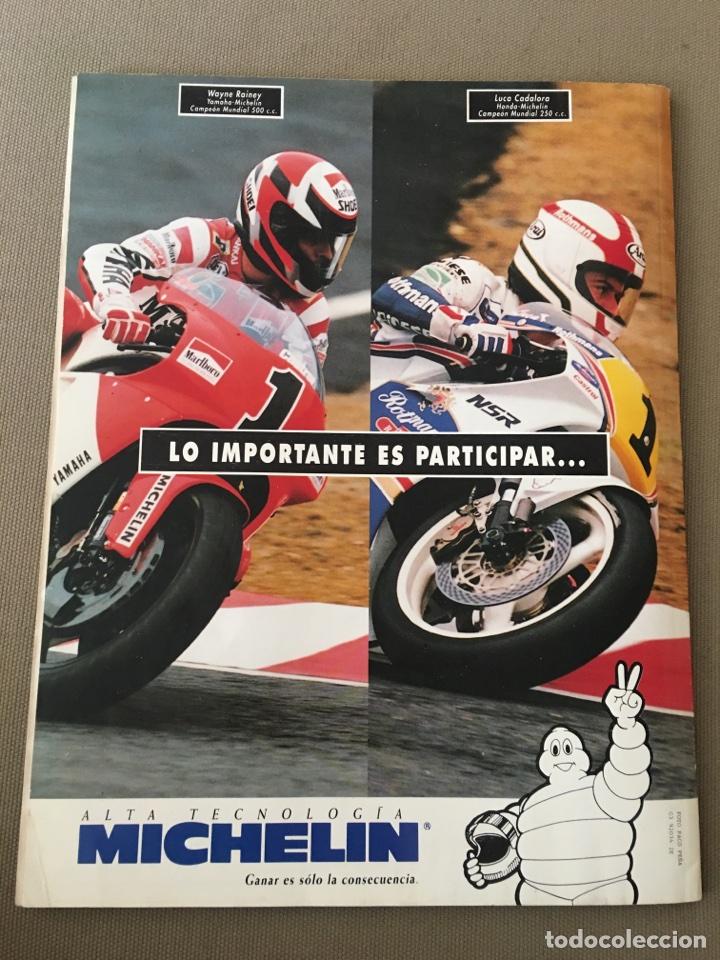 Coches y Motocicletas: REVISTA LA MOTO NUM 32 1992 YAMAHA GILERA PIAGGIO HONDA BNW CAGIVA - Foto 4 - 122105742