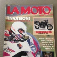 Coches y Motocicletas: REVISTA LA MOTO NUM 33 1993 HONDA SUZUKI BMW BIMOTA YAMAHA. Lote 122105918