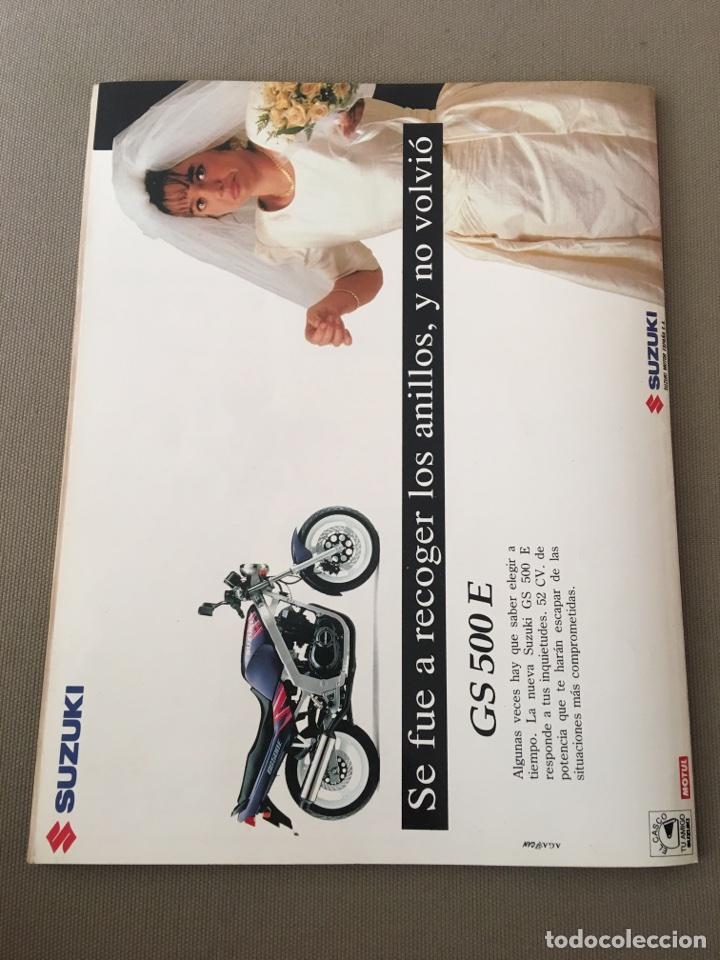 Coches y Motocicletas: REVISTA LA MOTO NUM 33 1993 HONDA SUZUKI BMW BIMOTA YAMAHA - Foto 3 - 122105918