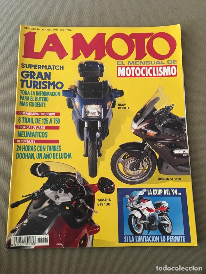 REVISTA LA MOTO NUM 40 1993 TRAIL HONDA BMW YAMAHA (Coches y Motocicletas - Revistas de Motos y Motocicletas)