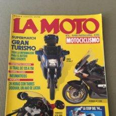 Coches y Motocicletas: REVISTA LA MOTO NUM 40 1993 TRAIL HONDA BMW YAMAHA. Lote 202681381