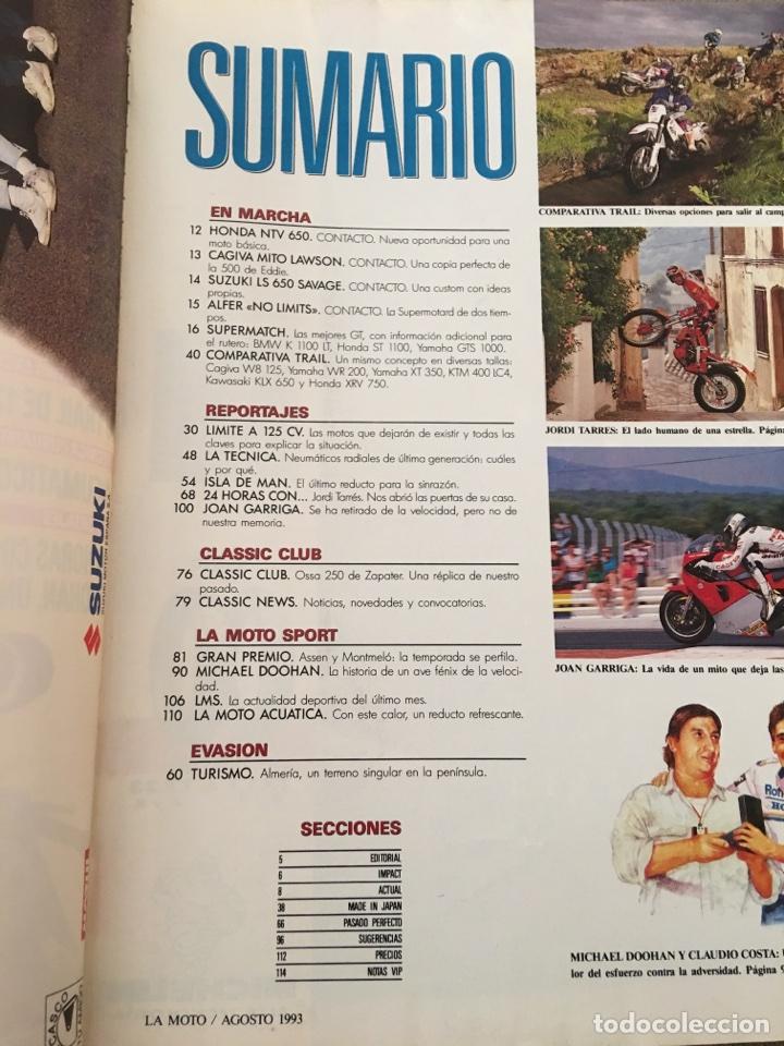 Coches y Motocicletas: REVISTA LA MOTO NUM 40 1993 TRAIL HONDA BMW YAMAHA - Foto 3 - 202681381