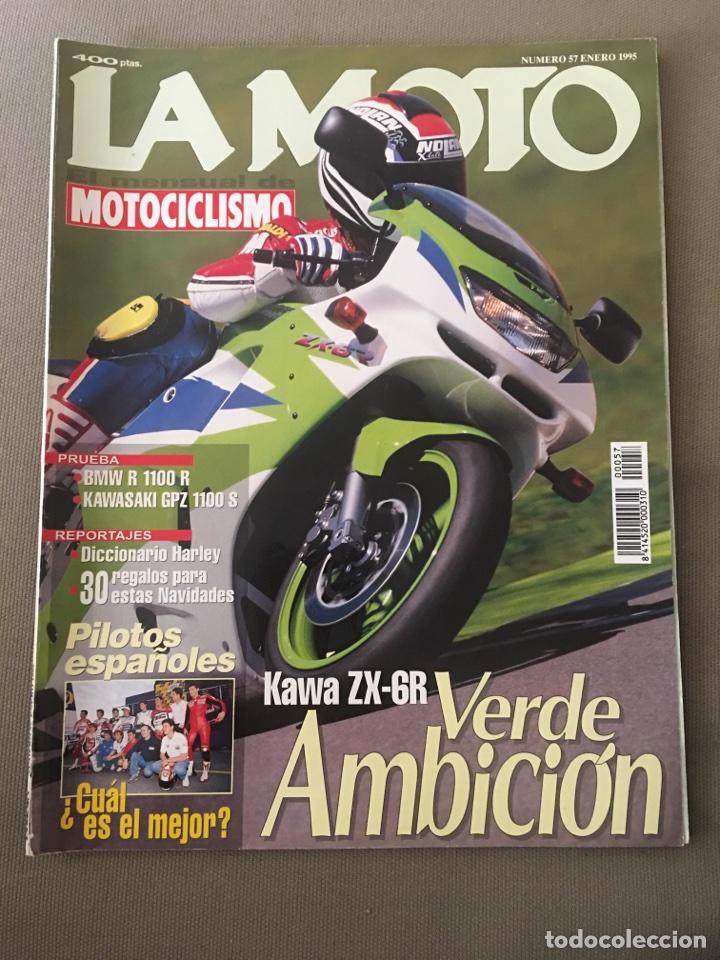 REVISTA LA MOTO 57 1995 MOTOCICLISMO KAWASAKI BMW (Coches y Motocicletas - Revistas de Motos y Motocicletas)