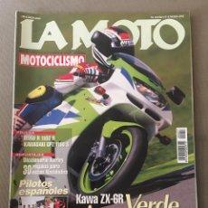 Coches y Motocicletas: REVISTA LA MOTO 57 1995 MOTOCICLISMO KAWASAKI BMW. Lote 122112632