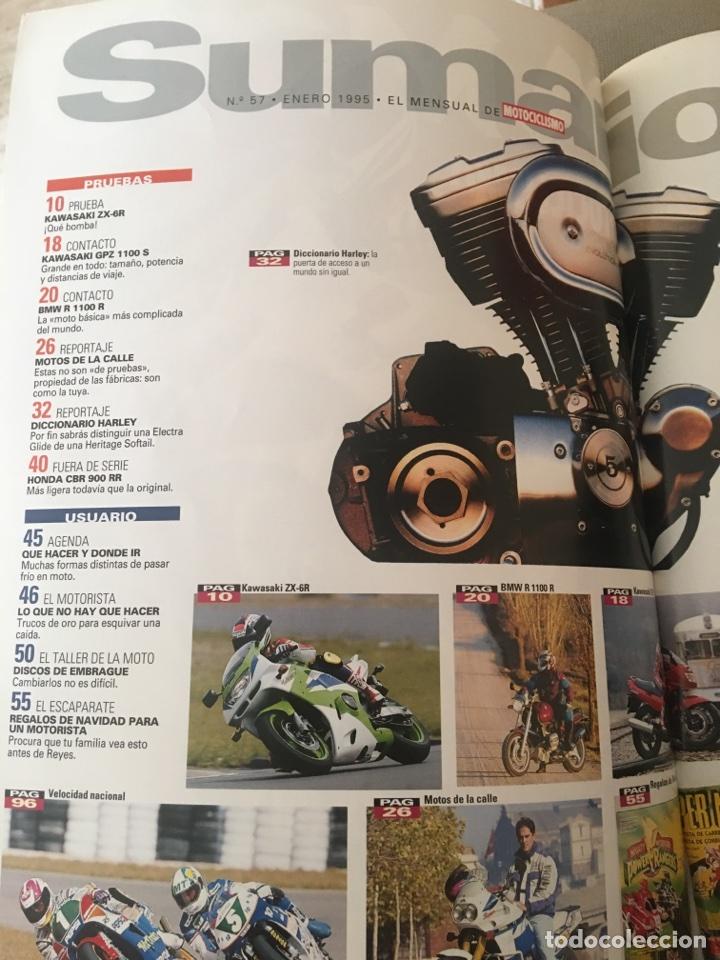 Coches y Motocicletas: REVISTA LA MOTO 57 1995 MOTOCICLISMO KAWASAKI BMW - Foto 2 - 122112632