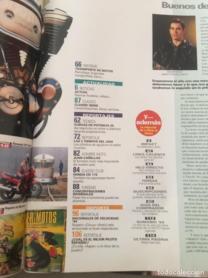 Coches y Motocicletas: REVISTA LA MOTO 57 1995 MOTOCICLISMO KAWASAKI BMW - Foto 3 - 122112632