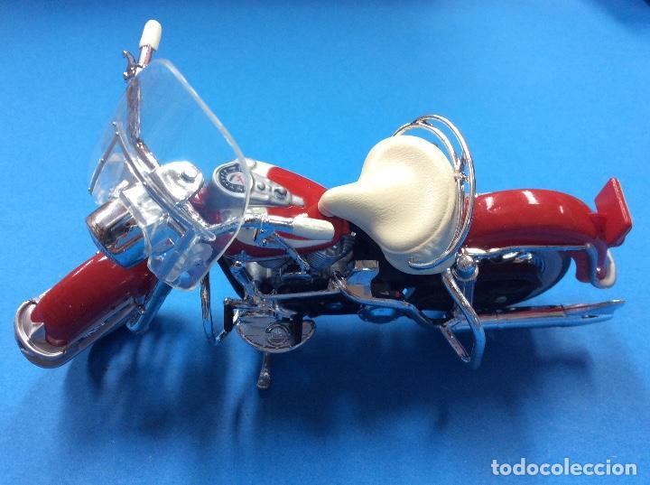 HARLEY DAVIDSON ROJO (Coches y Motocicletas - Revistas de Motos y Motocicletas)