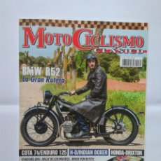 Coches y Motocicletas: REVISTA MOTOCICLISMO CLÁSICO Nº 165 COTA 74 MONTESA ENDURO BMW R25. Lote 124275750