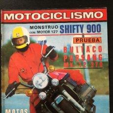 Automobili e Motociclette: MOTOCICLISMO Nº 591 - DIC 1978 - BULTACO PURSANG MK 12 / SHIFTY 900 / GUZZI 850 LE MANS II. Lote 124472215