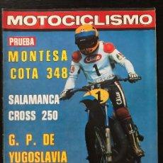 Coches y Motocicletas: MOTOCICLISMO Nº 577 - SEP 1978 - GP YUGOSLAVIA / MONTESA COTA 348 / BOL D'OR / MOTO CROSS SALAMANCA. Lote 124472875